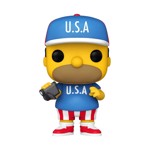The Simpsons - Homer U.S.A. Pop! Vinyl Figure - Packshot 1