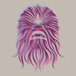 Star Wars - Chewie Face T-Shirt - XL - Packshot 2