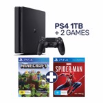 PlayStation 4 1TB Console + 2 Games - Packshot 1