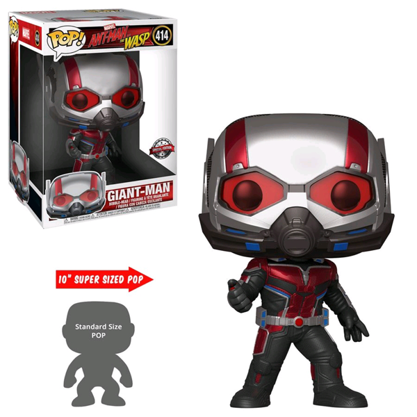 "Marvel - Ant-Man and the Wasp - Giant Man 10"" Pop! Vinyl Figure - Packshot 1"