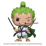 One Piece - Roronoa Zoro Pop! Vinyl Figure - Packshot 1