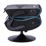 BraZen Serpent 2.1 Bluetooth Surround Sound Gaming Chair - Blue - Packshot 5