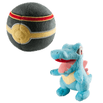 Pokemon - Totodile and Luxury Ball 2-Pack Plush - Packshot 1