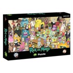 Rick and Morty - 1000 piece Jigsaw Puzzle - Packshot 1