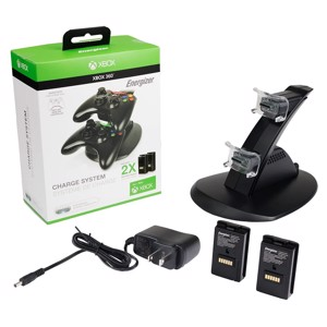 Microsoft® Licensed Energizer® 2X Charging System for Xbox 360