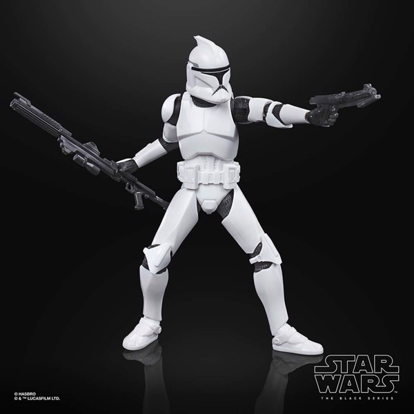 Star Wars - The Clone Wars - The Black Series Phase 1 Clone Trooper 6-Inch-Scale Deluxe Action Figure - Packshot 5