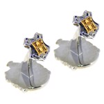 Harry Potter - Hufflepuff Double-Sided Cuff Links - Packshot 2