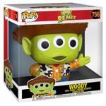 "Disney - Pixar Remix - Alien as Woody 10"" Pop! Vinyl Figure - Packshot 2"