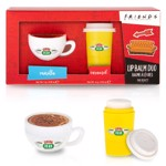 Friends - Mad Beauty Central Perk Coffee Cup Lip Balm Duo - Packshot 1