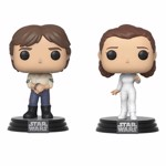 Star Wars - Han & Leia 2 Pack Pop! Vinyl Figure - Packshot 1