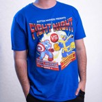 Marvel - Marvel 80th Anniversary - Marvel Fight Night Blue T-Shirt - XXL - Packshot 3