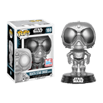 Star Wars - Rogue One - Death Star Droid Chrome NYCC17 Pop! Vinyl Figure - Packshot 1