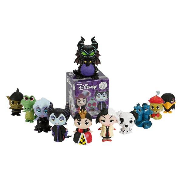 Disney - Villains Mystery Mini Hot Topic Exclusive Blind Box (Single Box) - Packshot 1