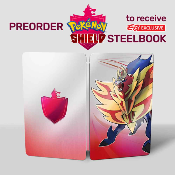 Pokemon Shield Steelbook - Bonus 1