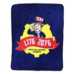 Fallout 76 - Tricentennial Fleece Throw Blanket - Packshot 1