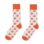 Star Wars - May The 4th Heroes Orange Socks - Packshot 1