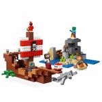 Minecraft - LEGO The Pirate Ship Adventure - Packshot 3