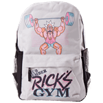 Rick and Morty - Ricks Gym Backpack - Grey - Packshot 1