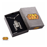 Star Wars - R2-D2 Steel Pendant with Chain - Packshot 3