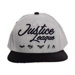 DC Comics - Justice League Grey Cap - Packshot 1