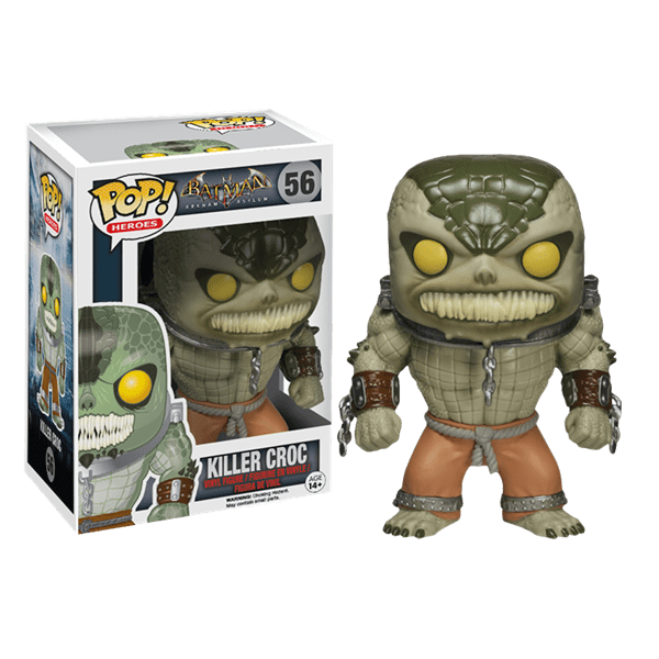Batman - Arkham Asylum - Killer Croc POP! Vinyl - Packshot 1