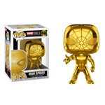Marvel - The First Ten Years - Iron Spider Gold Chrome Pop! Vinyl Figure - Packshot 1