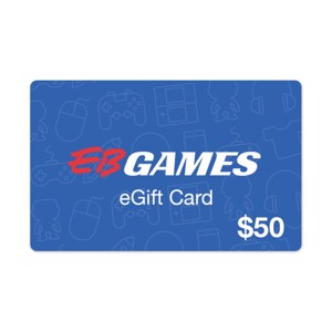 $50 EB Games Gift Card - Gift Cards