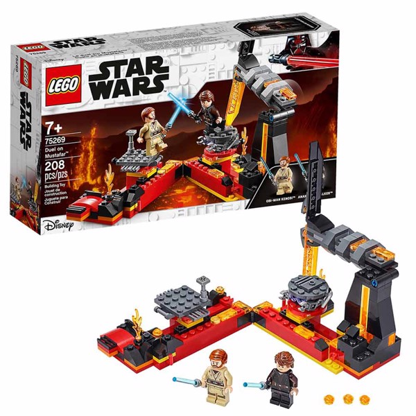 Star Wars - LEGO Duel on Mustafar - Packshot 1