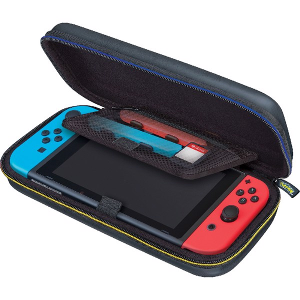 Nintendo Switch Game Traveler Deluxe Pikachu Carrying Case - Packshot 2