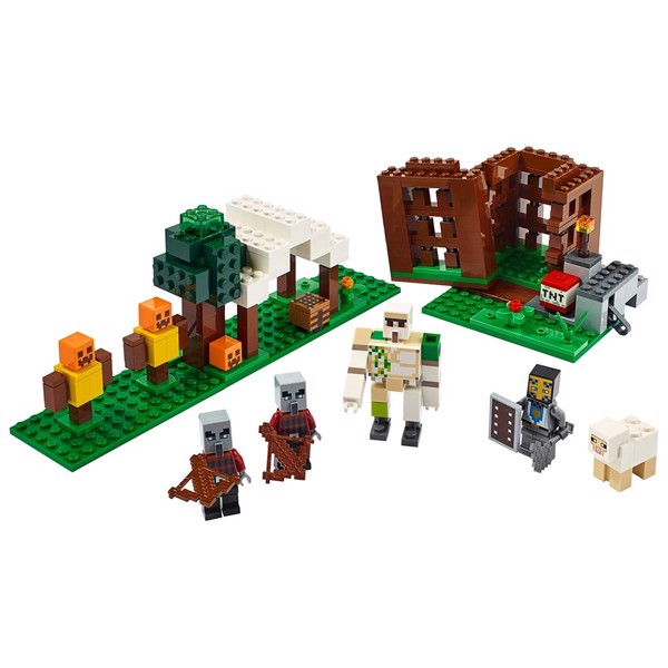 Minecraft - LEGO The Pillager Outpost - Packshot 2
