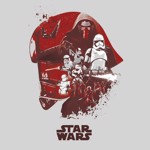 Star Wars - First Order Collage T-Shirt - M - Packshot 2