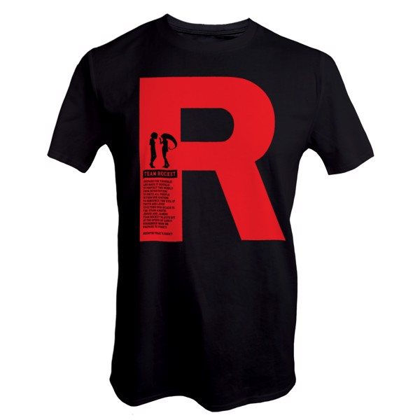 Pokemon - Team Rocket Motto T-Shirt - M - Packshot 1
