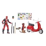 "Marvel -  Deadpool with Scooter 6"" Marvel Legends Series Action Figure - Packshot 2"