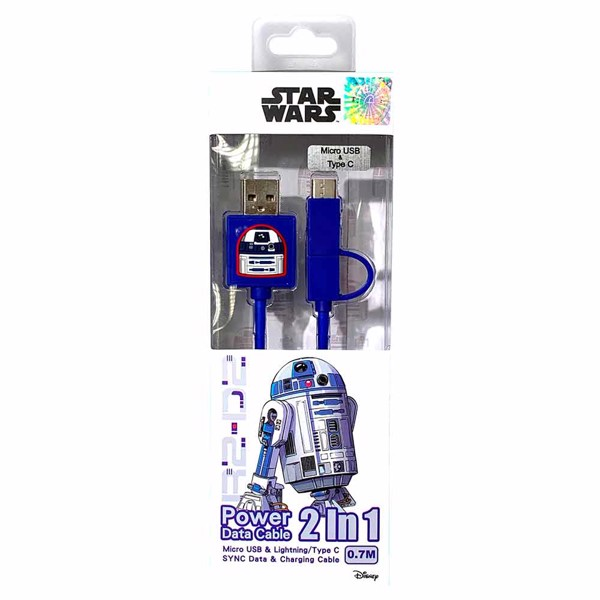 Star Wars - R2-D2 USB Type-C Cable - Packshot 1