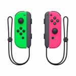 Nintendo Switch Joy-Con Neon Green and Neon Pink Controller Set - Packshot 2