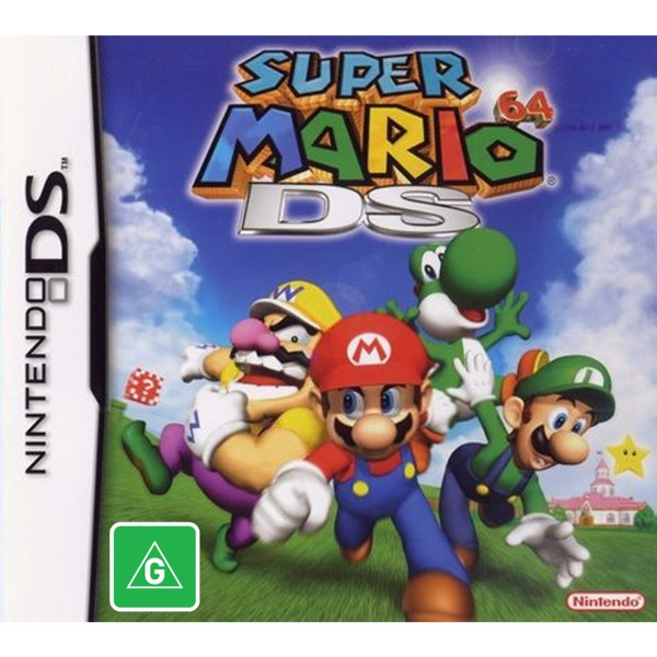 Super Mario 64 - Packshot 1