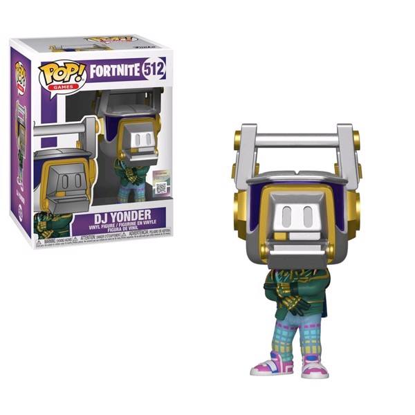 Fortnite - DJ Yonder Pop! Vinyl Figure - Packshot 1