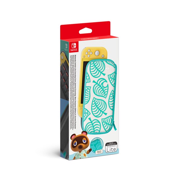 Nintendo Switch Lite Animal Crossing New Horizons Carry Case + Screen Protector - Packshot 1