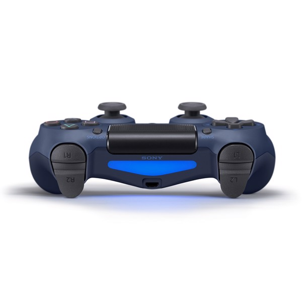 New PlayStation 4 DualShock 4 Wireless Controller - Midnight Blue - Packshot 4