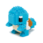 Pokemon - Squirtle Nanoblocks Figure - Packshot 1