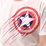 Marvel - Avengers - Captain America Shield T-Shirt - Packshot 3