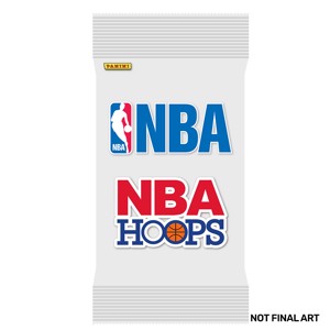 NBA - NBA Hoops Basketball 2020-21 Booster Pack - Toys and Collectibles