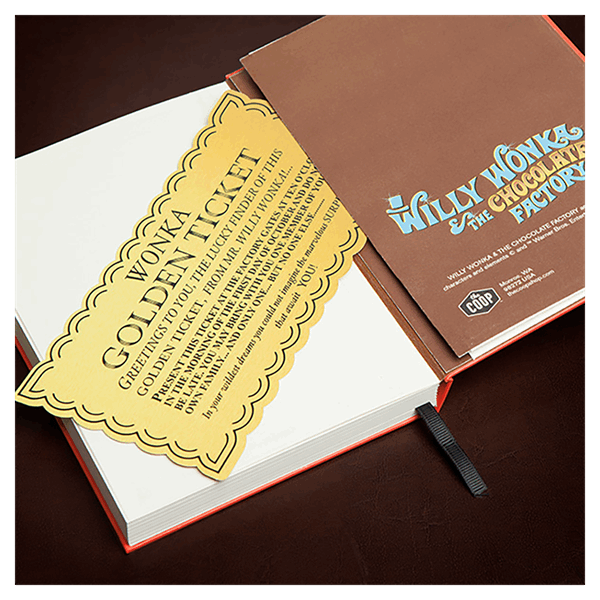 Willy Wonka and the Chocolate Factory - Willy Wonka Bar Journal - Packshot 2