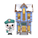 Peppermint Lane - Frosty with Light Up Post Office Pop! Town - Packshot 1