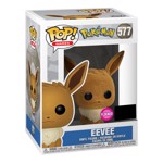 Pokemon - Eevee Flocked Wondercon 2020 Pop! Vinyl Figure - Packshot 2