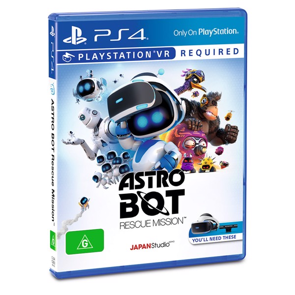 Astro Bot Rescue Mission VR - Packshot 2