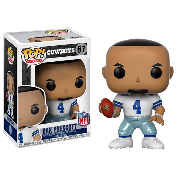 NFL - Cowboys - Dak Prescott Pop! Vinyl Figure - Packshot 1