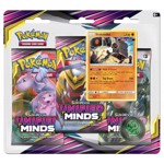 Pokemon - TCG - Unified Minds 3-Booster Blister Pack - Packshot 1