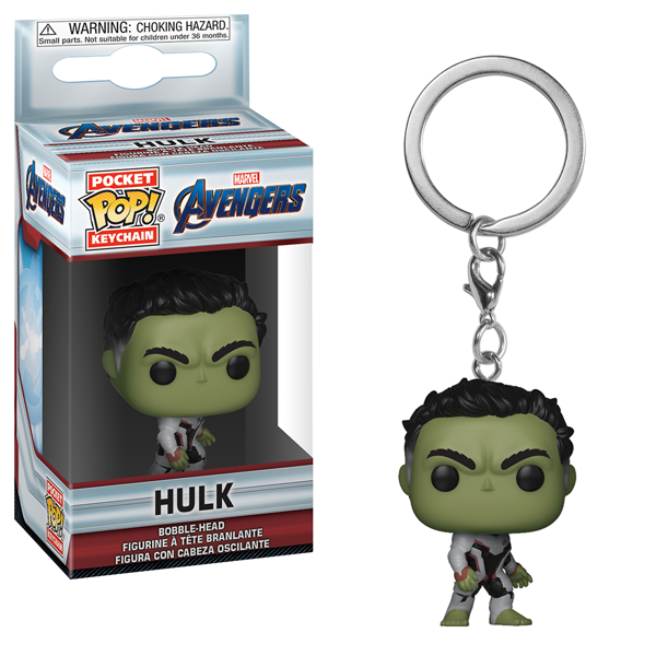 Marvel - Avengers: Endgame - Hulk Pocket Pop! Keychain - Packshot 1