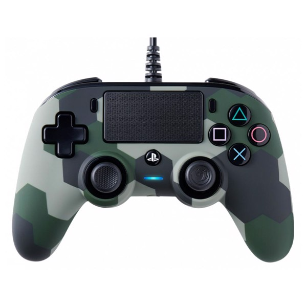 NACON Wired Compact Controller - Green Camo - Packshot 1